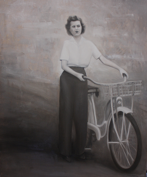 Relative with Bike
