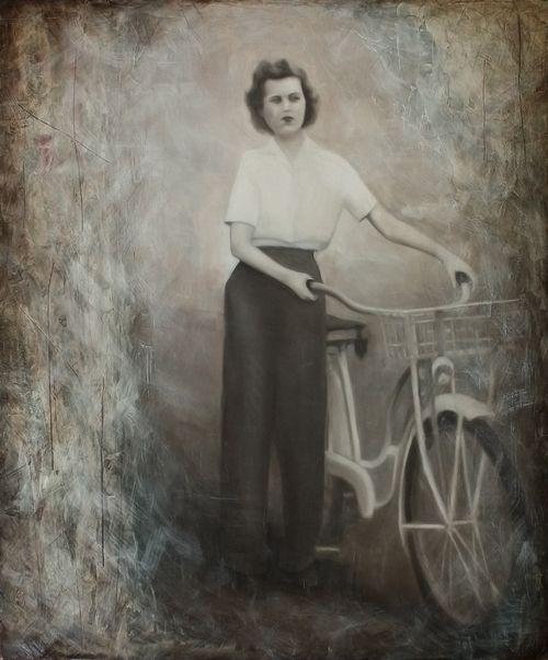 Ahmzie With Bike
